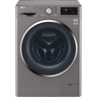 LG Steam™ F4J6JY2S 10Kg Washing Machine with 1400 rpm - Graphite - A+++ Rated Best Price, Cheapest Prices