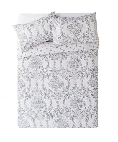 Argos Home Damask Bedding Set - Double Best Price, Cheapest Prices