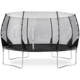 Plum 14ft Magnitude Springsafe Trampoline with Enclosure Best Price, Cheapest Prices