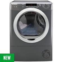 Candy GVSC10DCGR 10KG Condenser Tumble Dryer - Graphite Best Price, Cheapest Prices