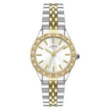 Limit Ladies' Two Tone Stone Set Bracelet Watch Best Price, Cheapest Prices