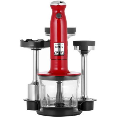 Kenwood KMIX HDX754RD Hand Blender with 3 Accessories - Red Best Price, Cheapest Prices