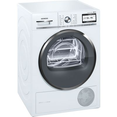 Siemens IQ-700 WT4HY791GB Wifi Connected 9Kg Heat Pump Tumble Dryer - White - A++ Rated Best Price, Cheapest Prices