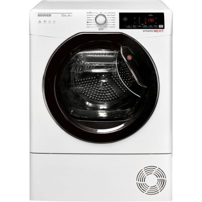 Hoover Dynamic Next DXWH10A2TKE Wifi Connected 10Kg Heat Pump Tumble Dryer - White - A++ Rated Best Price, Cheapest Prices