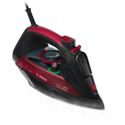 Bosch Sensixx EditionRosso TDA5070GB 3100 Watt Iron -Black / Red Best Price, Cheapest Prices