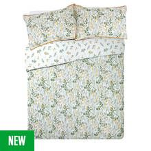 Argos Home Wildflowers Sateen Bedding Set - Double Best Price, Cheapest Prices