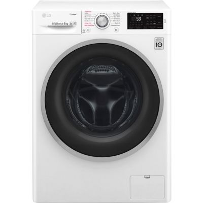 LG Steam™ F4J6TY1W 8Kg Washing Machine with 1400 rpm - White - A+++ Rated Best Price, Cheapest Prices