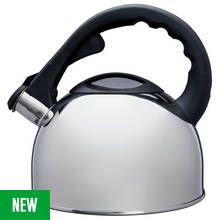 Argos Home Polished Stainless Steel Stove Top Kettle Best Price, Cheapest Prices