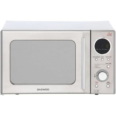 Daewoo KOG3000SL 20 Litre Microwave With Grill - Silver Best Price, Cheapest Prices