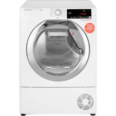 Hoover Dynamic Next Advance DXC10TCE 10Kg Condenser Tumble Dryer - White - B Rated Best Price, Cheapest Prices