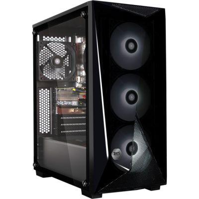 3XS Core Gamer 2060 RGB Gaming Tower - Black Best Price, Cheapest Prices