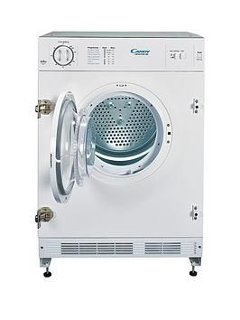 Candy Cbtd7Vw-80 7Kg Vented Integrated Tumble Dryer - White - Dryer Only Best Price, Cheapest Prices