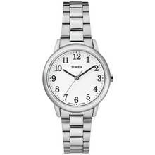 Timex Ladies' Silver Colour Easy Reader Bracelet Watch Best Price, Cheapest Prices
