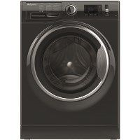 GRADE A1 - Hotpoint ActiveCare NM11946BCA Ultra Efficient 9kg 1400rpm Freestanding Washing Machine - Black Best Price, Cheapest Prices