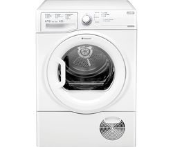 HOTPOINT Aquarius TCFS 93B GP 9 kg Condenser Tumble Dryer - White Best Price, Cheapest Prices