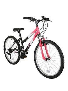 Flite Ravine Front Suspension Girls Bike 24 inch Wheel Best Price, Cheapest Prices