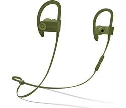 BEATS Powerbeats3 Neighbourhood Wireless Bluetooth Headphones - Turf Green Best Price, Cheapest Prices