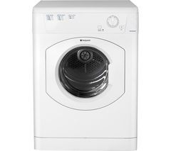 HOTPOINT Aquarius TVHM80CP Vented Tumble Dryer - White Best Price, Cheapest Prices