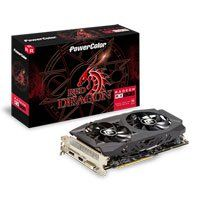 8GB PowerColor Radeon RX 590 Red Dragon, 12nm, 2304 Streams, 1545MHz Boost, 8000MHz GDDR5, DP/HDMI/DVI-D Best Price, Cheapest Prices
