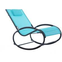 Vivere Wave Rocker - Ocean Blue on Matte Grey Best Price, Cheapest Prices