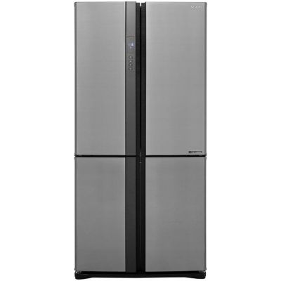 Sharp SJ-EX820FSL American Fridge Freezer - Silver - A++ Rated Best Price, Cheapest Prices