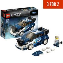 LEGO Speed Champions Ford Fiesta MSport WRC Toy Car - 75885 Best Price, Cheapest Prices