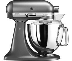 KITCHENAID Artisan 5KSM17PSMBS Stand Mixer - Medallion Silver Best Price, Cheapest Prices