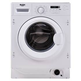 Bush WMNSINT812W 8KG 1200 Spin Washing Machine - White Best Price, Cheapest Prices