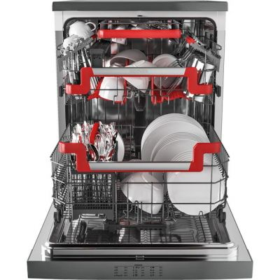 Hoover AXI HDPN1L642OX Standard Dishwasher - Stainless Steel - A+ Rated Best Price, Cheapest Prices