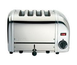 DUALIT 40352 Vario 4-Slice Toaster - Stainless Steel Best Price, Cheapest Prices