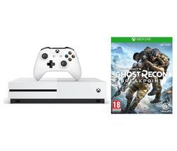 MICROSOFT Xbox One S 1 TB & Tom Clancy's Ghost Recon Breakpoint Bundle Best Price, Cheapest Prices