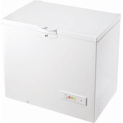 Indesit OS1A250H2UK.1 Chest Freezer - White - A+ Rated Best Price, Cheapest Prices