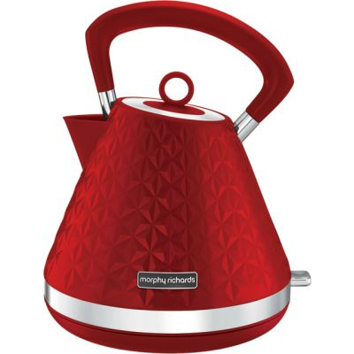Morphy Richards Vector 108133 Kettle - Red Best Price, Cheapest Prices