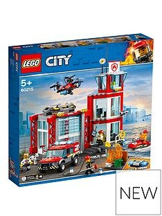 LEGO City 60215 Fire Station Best Price, Cheapest Prices