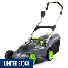 Gtech 43cm Cordless Rotary Lawnmower - 670W Best Price, Cheapest Prices