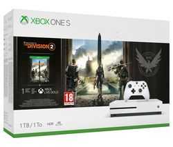 MICROSOFT Xbox One S with Tom Clancy's The Division 2 Best Price, Cheapest Prices