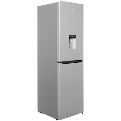 Hisense RB335N4WG1 50/50 Frost Free Fridge Freezer - Silver - A+ Rated Best Price, Cheapest Prices