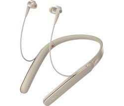 SONY WI-1000X Wireless Bluetooth Noise-Cancelling Headphones - Gold Best Price, Cheapest Prices