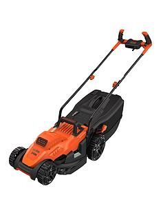 Black & Decker 1400W 34 cm Lawnmower with Bike Handle Controls Best Price, Cheapest Prices