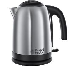 RUSSELL HOBBS Cambridge Brushed Steel 20070 Jug Kettle - Polished Stainless Steel Best Price, Cheapest Prices