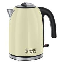 Russell Hobbs 20415 Colours Plus S/Steel Kettle - Cream Best Price, Cheapest Prices