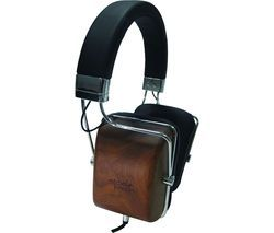 M&J MJ1 Headphones - Black Wood Best Price, Cheapest Prices