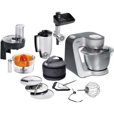 Bosch MUM59340GB Stand Mixer with 3.9 Litre Bowl - Silver Best Price, Cheapest Prices