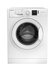 Hotpoint Nswm743Uw 7Kg Load, 1400 Spin Washing Machine - White Best Price, Cheapest Prices