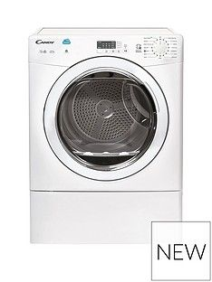 Candy CSV10LG 10kg Load Vented Tumble Dryer with Smart Touch - White Best Price, Cheapest Prices