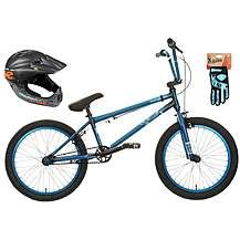 Mongoose Scan R90 BMX bike, Helmet & Gloves b Best Price, Cheapest Prices