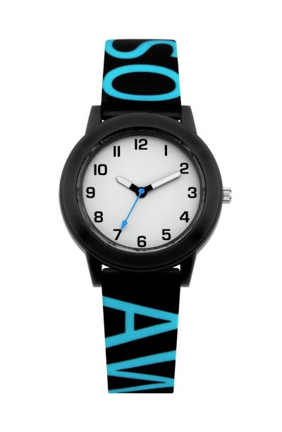 Little Tix Childrens Blue Awesome Silicone Strap Watch Best Price, Cheapest Prices