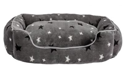 Stars Plush Square Bed - Medium Best Price, Cheapest Prices