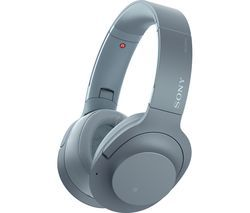 SONY WH-H900N Wireless Bluetooth Noise-Cancelling Headphones - Blue Best Price, Cheapest Prices