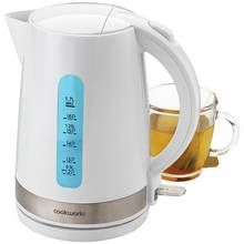 Cookworks Illumination Kettle - White Best Price, Cheapest Prices
